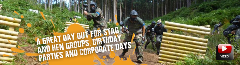 <Paintball Games For Stags Haslemere>